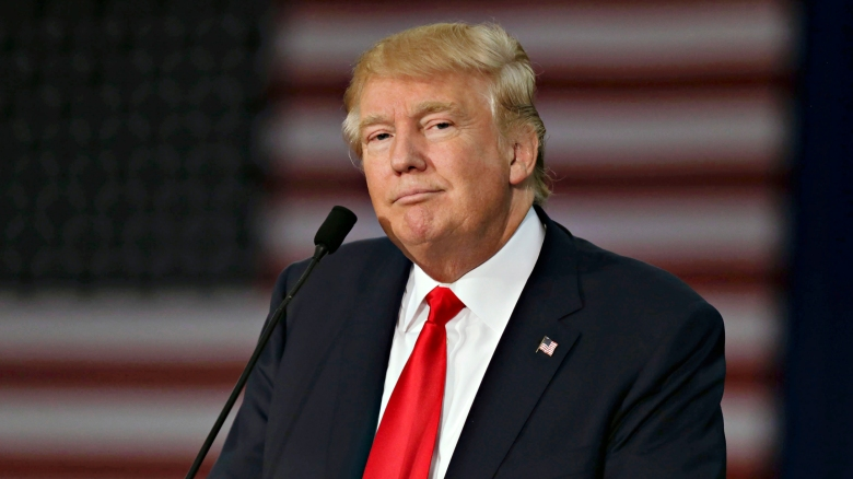Donald Trump Holds Rally At Grand River Center