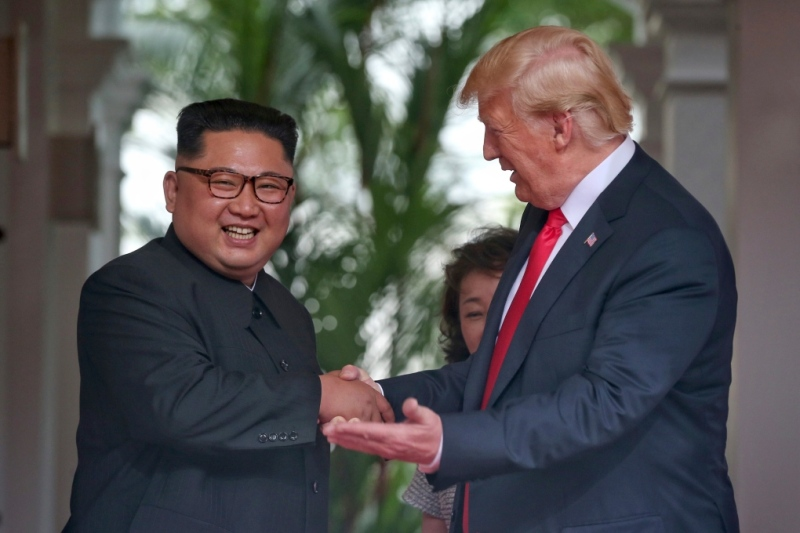 Trump Kim Summit 01